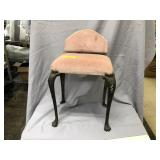 Metal Art Deco Vanity Stool