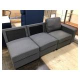Incomplete 3-Piece Sectional Sofa, Missing