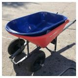 Craftsman Wheelbarrow cracked, with Kobalt body