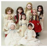 Alderfer Online - Antique German and French Bisque Dolls and Body Parts: 2-12-19