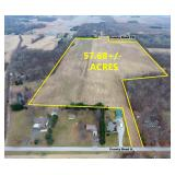 57.68 +/- Acres Farmland Auction