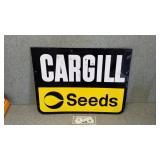 Vintage original Cargill seeds embossed metal