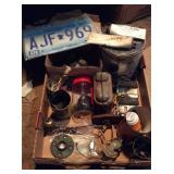 lot of miscellaneous automotive parts and
