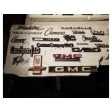 Lot of GM emblems