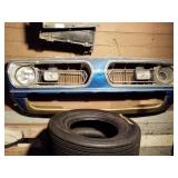 1967 Plymouth Barracuda front end