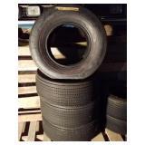 Vintage Winston winter Redline tires L 60 x 15