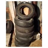14 and 15 inch passenger car tires various