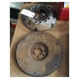Big block Mopar flywheel and clutch pressure
