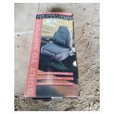 Orthopedic car seat cover