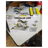 New performax circular saw