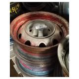 2 mopar rally wheels 14 inch