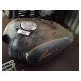 Honda motorcycle gas tank