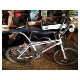 Vintage Redline BMX bicycle