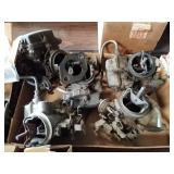 5 Single Barrel carburetors