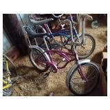 Vintage boys purple Schwinn Stingray
