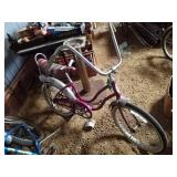 Vintage girls Schwinn Stingray slix chik
