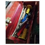 Waterloo tool box with miscellaneous tools