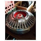 Vintage Dodge hubcaps