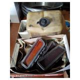 1970 Mopar marker lights and miscellaneous parts