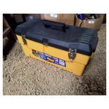 Plastic 23 inch tool box
