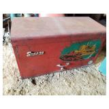 Vintage Snap-on tool box locked no key