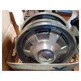 Plymouth hubcaps set of 5