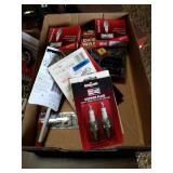 Spark plugs and other miscellaneous items