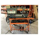 Collins Thred-O-Matic 22 Threading Machine w/cart