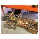 Clevis, hangers, galvanized & copper