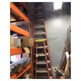 6 ft & 12 ft fiberglass ladders