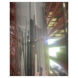 Misc sizes plastic PVC pipe