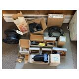 Welding cables, spray gun