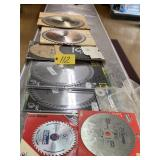 Mixed New Saw Blades