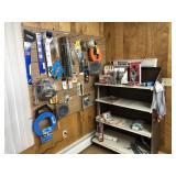 Wall & Rack of Tools