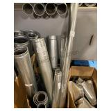 DBL Wall Stove Pipe 3 in -6 in round 1 ft - 5 ft