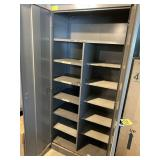 Metal cabinet  & Table