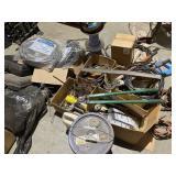 misc tools  tool bags, drill bits, bolot cutters