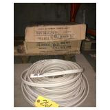 10-3 UF wire about 650 ft
