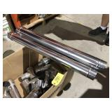 3 in - 4 in stainless steel vent pipe