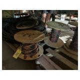 Misc. copper and aluminum wire various sizes