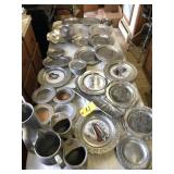 Assorted Pewter & Mixed metal 100+ pcs
