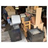 Garage misc lots of furniture housewares etc