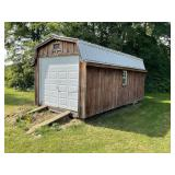 10 ft x 20 ft Shed