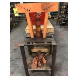 Universal Tubing Bender w/ 12 ton hydraulic jack
