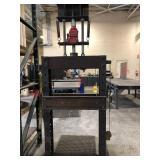 Shop Built 30-Ton Hydraulic Press