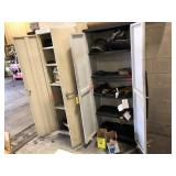Cabinets w/ welding & grinding items