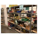 Lot of shelving, hardware, maintenance etc