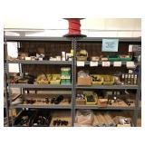 Shelves w/ Air supply line equipment