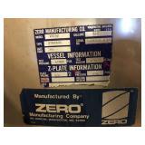 515 gln Zero Jacketed stainless fermentation tank