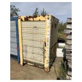 Tuff Tank 350 gln tanks in heavy metal cages